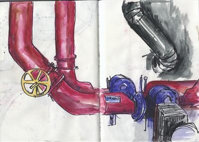 Sketchbook page 2010