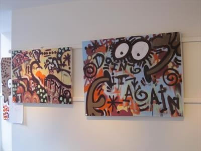 Urban art at the Edmund Gallery