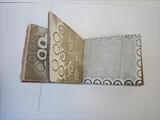 Curtains by Sara Muzira, Artist Book, Monoprints