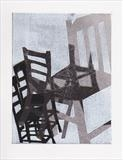 From a series of chair prints by Sara Muzira, Artist Print
